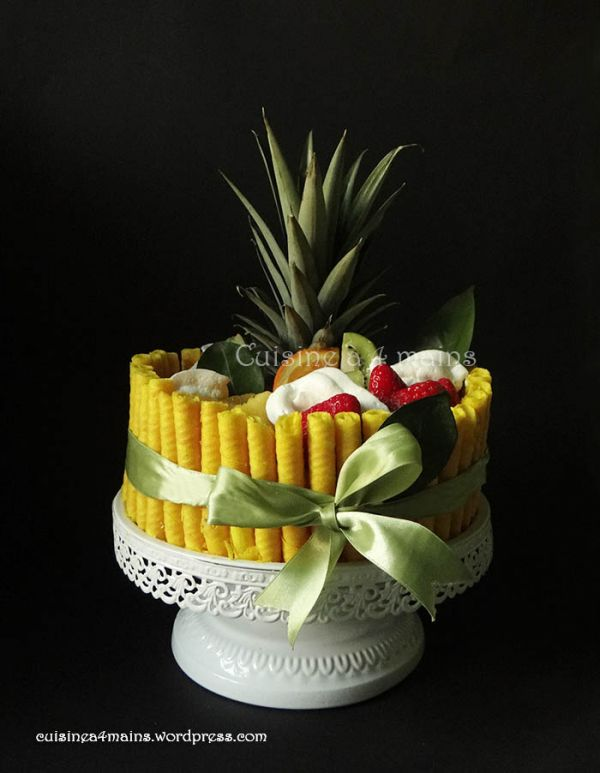 Layer cake aux fruits pour la Nonna