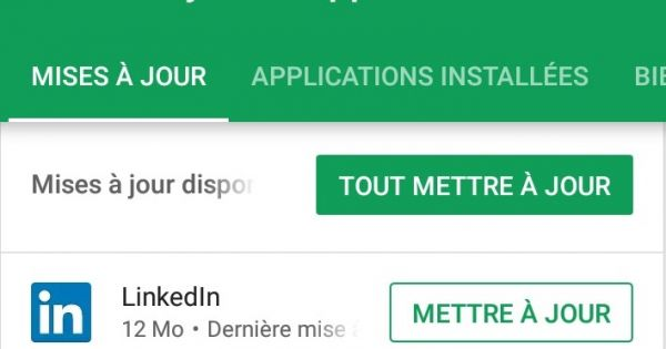 "Google Play Store lance une nouvelle interface pour ""Mes Jeux et Applications"""