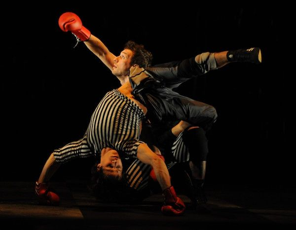 """Boxe Boxe"" au Théâtre du Rond-Point (Paris)"