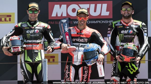 Déclarations des pilotes World Superbike à Misano