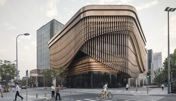 Heatherwick Studio & Foster + Partenaires : Cultural Center Bund Finance Center