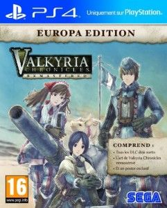 Valkyria Chronicles Remastered édition Europa (PS4) [UK, VOSTEN] à 18.29€