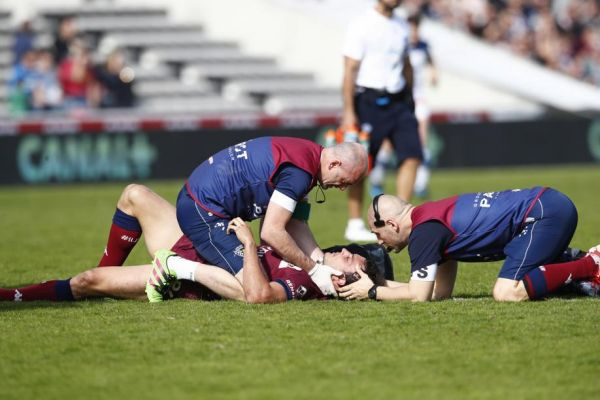 Rugby - Top 14 - Commotions : le rugby au bord du K.-O.