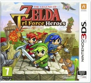 The Legend of Zelda : Tri Force Heroes (3DS) [UK, VF] à 13.67€