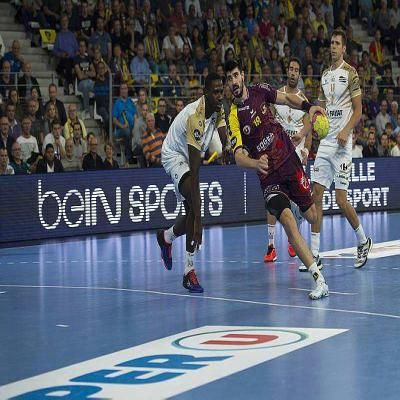 handball starligue eduardo gurbindo a port le hbc nantes vers le succ s. Black Bedroom Furniture Sets. Home Design Ideas