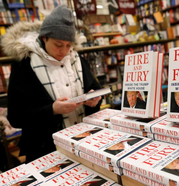 Des secrets de Donald Trump sur les étalages : « Fire and Fury: Inside the Trump White House »