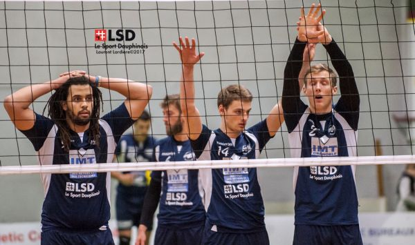 Volley : Le point sur les play-downs pour le Grenoble Volley UC