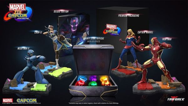 Bon Plan : Coffret collector MARVEL VS CAPCOM INFINITE à 49,99 euros (au lieu de 109,99...)