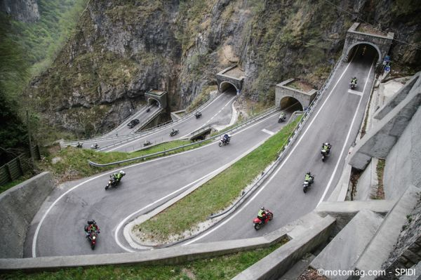 Balade moto : le Spidi Tour continue en France en 2018
