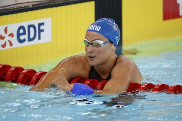 Natation - Open de France - Open de France : Charlotte Bonnet en démonstration