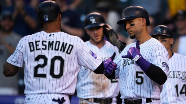 MLB : 18 points des Rockies en 4 manches