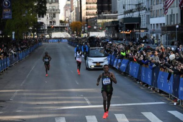 AthléMarathon de New York - Marathon de New York: Lilesa Desisa s'impose au sprint