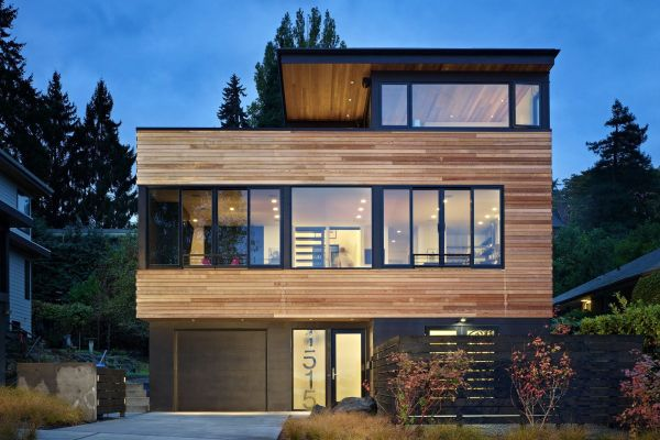 Cycle House, résidence urbaine à Seattle par chadbourne + doss architects