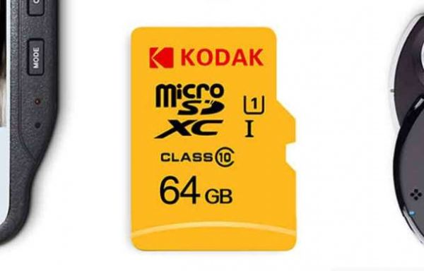 Vente flash :  11,54€ la carte micro SD 64Go Kodak U1 port inclus