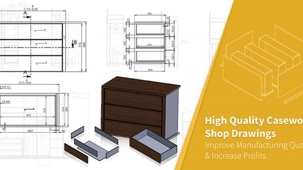 Significance of Casework Shop Drawings in Cabinet Manufacturing Process