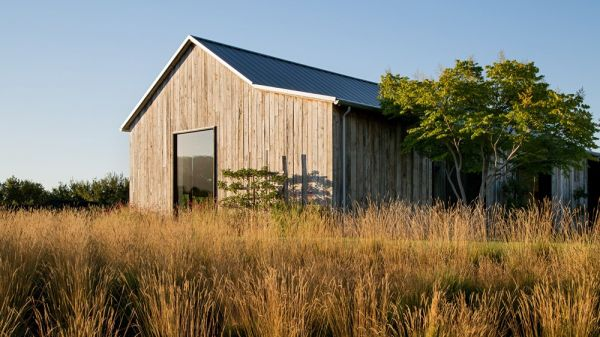 Portola Valley Barn, maison au Sud de San Francisco par Walker Warner Architects