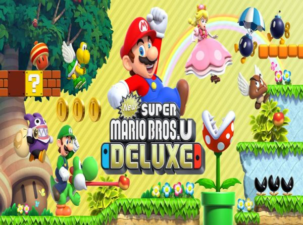 New Super Mario Bros. U Deluxe s'offre un trailer…