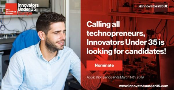 [Appel à candidatures] Innovators Under 35 Europe