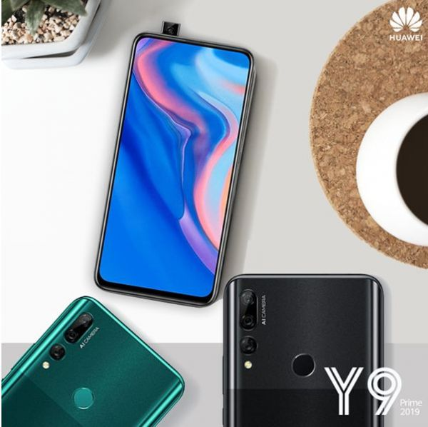Le Huawei Y9 prime 2019 officiellement sur le marché tunisien, let's pop-up !