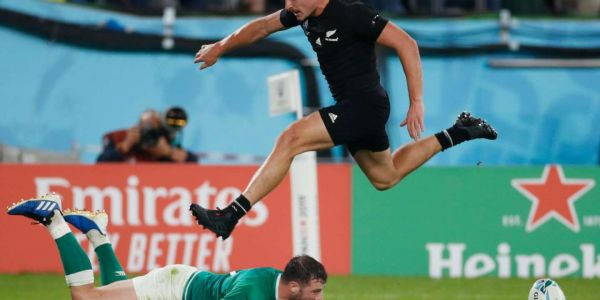 Coupe du monde de rugby 2019 : les All Blacks franchissent sans trembler l'écueil irlandais