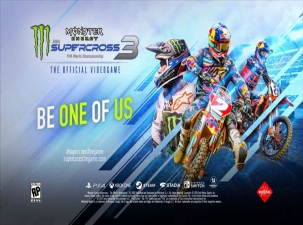 Monster Energy Supercross – The Official Videogame 3 annoncé…