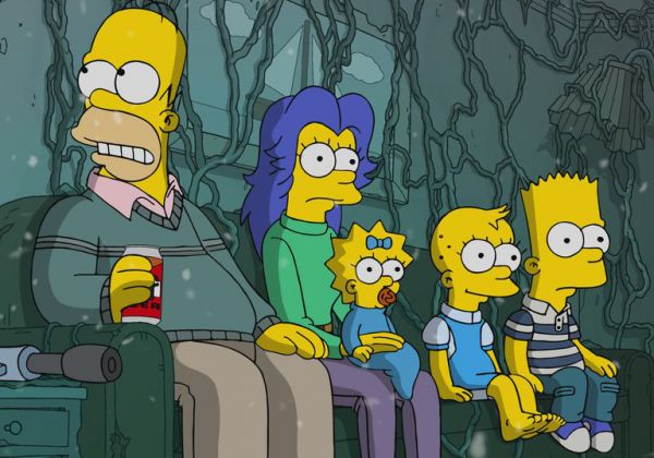 Les Simpson parodient Stranger Things pour Halloween