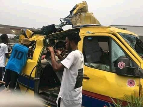Kinshasa : près de 40 morts dans un accident de circulation vers triangle au rond point Ngaba