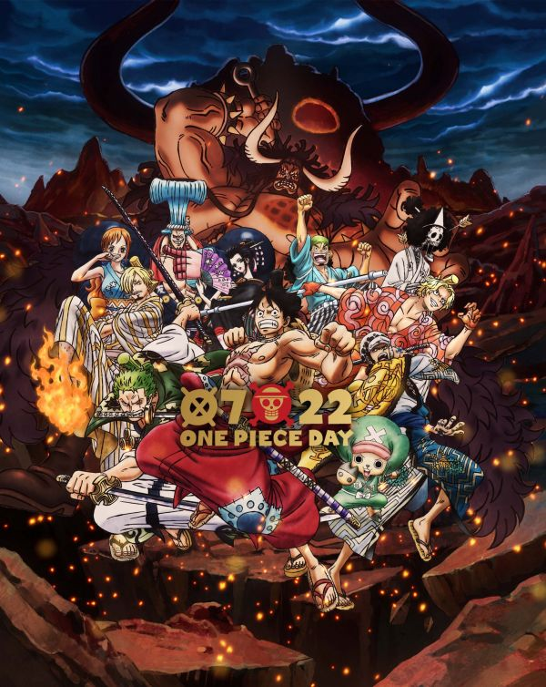 L'affiche officielle du One Piece Day 2020