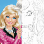 Coloring Pages for Girls - Mimi Panda