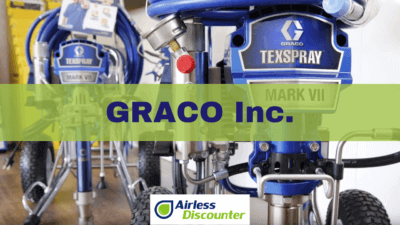 Graco Airless Verfspuitmachines – Top 5 - Airless Discounter nieuws