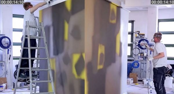 Spraying 420 square meters in 60 minutes – is that possible? - Airless Discounter - News for Home Painters