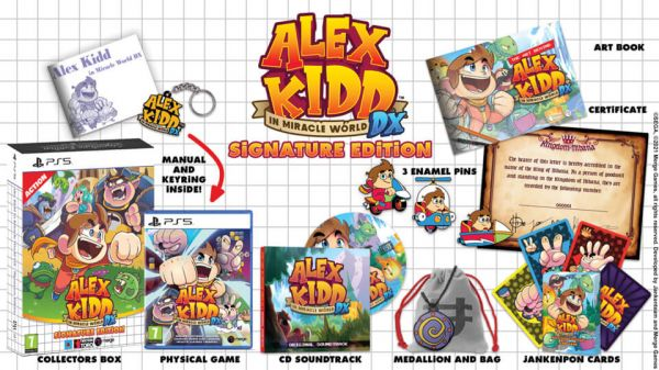 Alex Kid : in the miracle world DX – Signature Edition