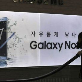 Galaxy Note 7 en feu: les batteries en cause