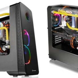 View 28 RGB Riing Edition Gull-Wing Window, Thermaltake illumine en rondeur