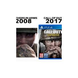 Call of Duty WWII copie allègrement le Brother in Arms d'Ubisoft/Gearbox… pour sa jaquette!