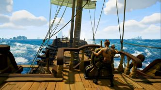 Sea of Thieves : Travail particlier sur particules