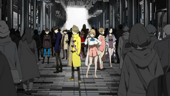 Occultic Nine ep 2 vostfr