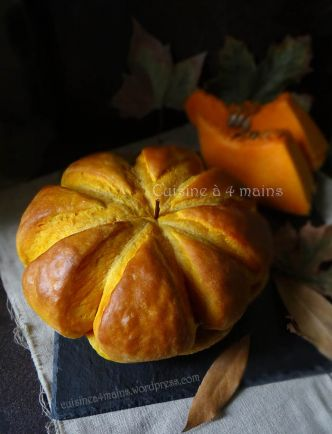 Pain citrouille – Pumpkin Bread