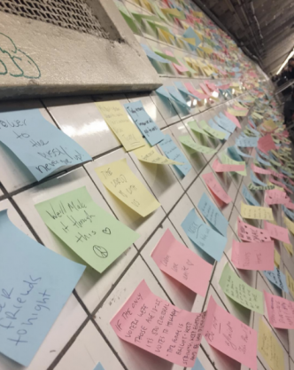 Levee /// Subway Therapy : Mots pour maux – New York