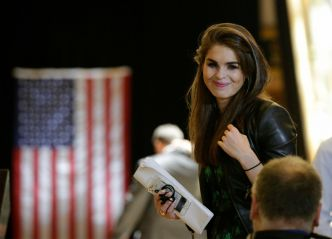 Hope Hicks, le doux visage du trumpisme