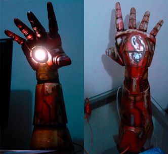 La lampe Iron Man - Geek