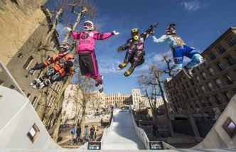 Red Bull Crashed Ice Marseille 2017