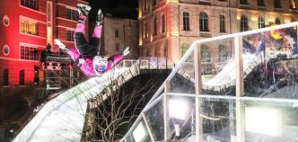 Red Bull Crashed Ice : Cameron Naasz s'impose à Marseille