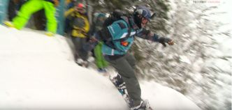 Le run victorieux de Travis Rice au Freeride World Tour du Japon