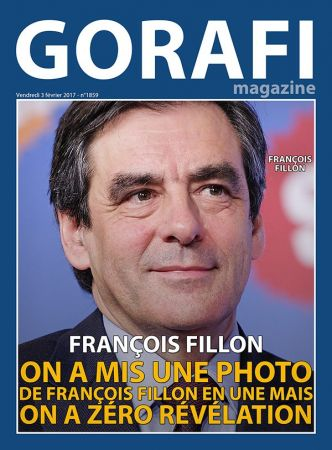 Gorafi Magazine : On a mis une photo de François Fillon en une mais on a zéro révélation