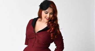 Mode Pin Up grande taille : 20 robes grande taille esprit vintage, rétro ou rockabilly
