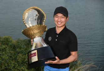 le Commercial Bank Qatar Masters pour Jeunghun Wang