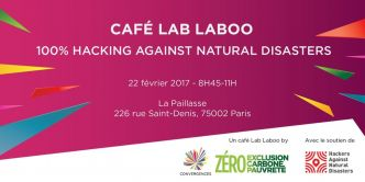Café Lab Laboo 100% Hacking Against Natural Disasters