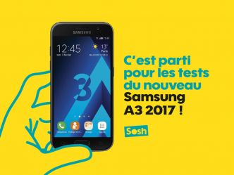 Re : Les tests commencent pour le Samsung Galaxy A3 2017