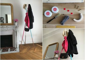 DIY porte manteau avec MY DO IT BOX